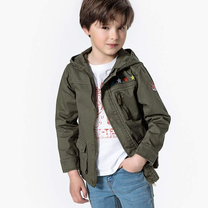 La Redoute Collections Military Jacket, 3-12 Years