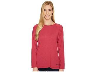 Jack Wolfskin Travel Long Sleeve T-Shirt Women's T Shirt