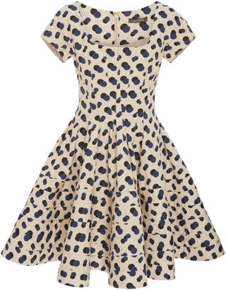 Zac Posen Patterned Mini Dress