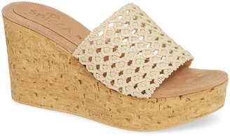 Sbicca Monat Platform Wedge Sandal