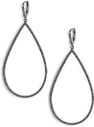 Lisa Freede Micro Pave Teadrop Earrings