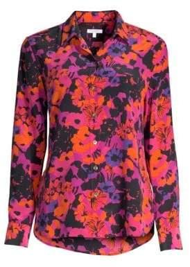 Equipment Leema Floral Shirt