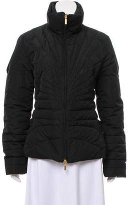 Moncler Standing Collar Down Coat
