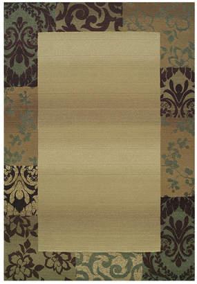 """Oriental Weavers """"Genesis"""" 2060Y Area Rug, 8' Square"""