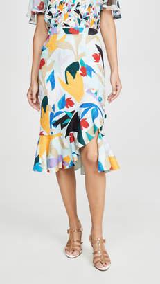 Prabal Gurung Ruffle Skirt