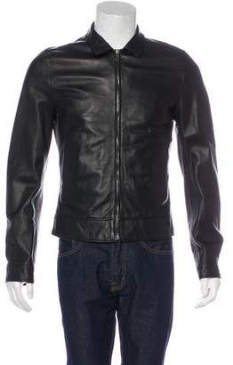 Dolce & Gabbana Leather Jacket w/ Tags