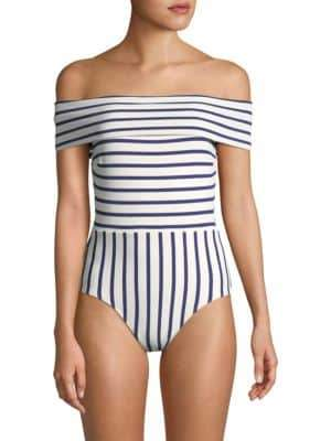 Solid and Striped The Vera One-Piece Striped Swimsuit