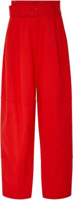 A.L.C. Cooper Wide-Leg Linen-Blend Pants