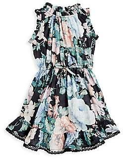 Zimmermann Kids Little Girl's & Girl's Verity Floral Flip Dress