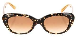 Oliver Goldsmith Tortoiseshell Acetate Sunglasses w/ Tags Brown Tortoiseshell Acetate Sunglasses w/ Tags