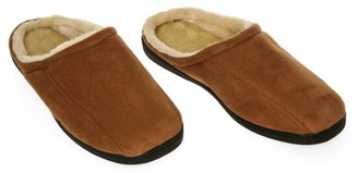 Deluxe Comfort Memory Foam Suede Fleece Lined Slippers