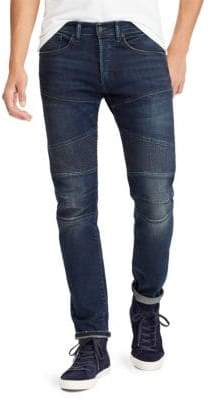 Polo Ralph Lauren Sullivan Slim Fit Stretch Moto Jeans