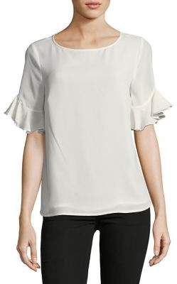 CeCe Ruffle-Sleeve Blouse