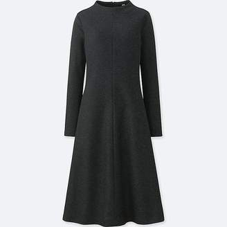 Uniqlo Women's Wool-blend Long-sleeve Dress
