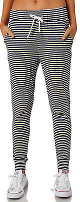 Swell New Women's Native Lounge Pant Cotton Polyester Elastane Black