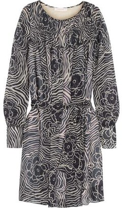 See by Chloe Printed Silk-Georgette Mini Dress