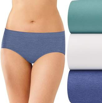 Bali 3-pk. Comfort Revolution Seamless Hipster Panties AK90