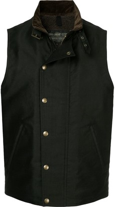 Addict Clothes Japan press stud Boa vest