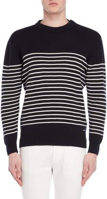 Armor Lux Black & White Wool Sweater