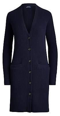 Polo Ralph Lauren Women's Boyfriend Wool & Cashmere Cardigan Sweater