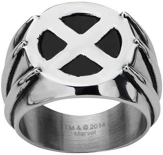 Wolverine FINE JEWELRY Marvel Mens Two-Tone Stainless Steel Ring