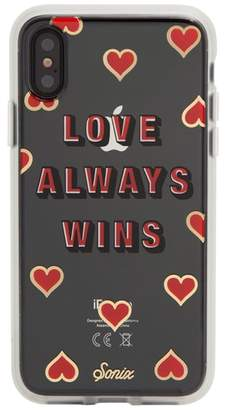 Sonix Love Always Wins iPhone X Case