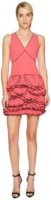Moschino Georgette Ruffle Dress