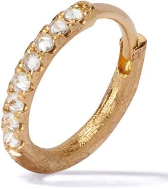 Annoushka Yellow Gold Dusty Diamonds Hoop Earring