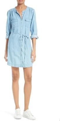 Women's Soft Joie Milli Chambray Shirtdress $178 thestylecure.com