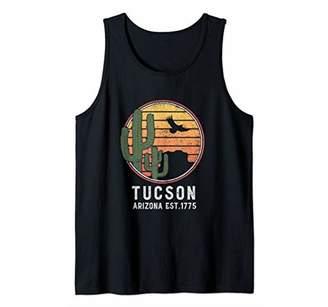 Tucson Arizona Retro Cactus Tank Top