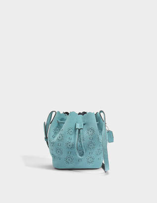 Coach Bucket Bag 16 in Marine Calfskin