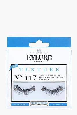 boohoo NEW Womens Eylure Texture False Lashes - 117 in