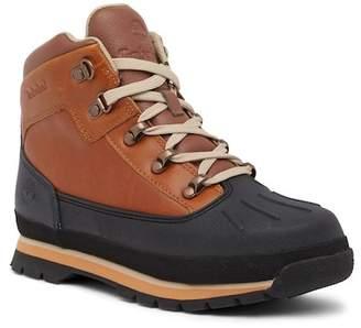 Timberland Euro Hiker Shell Toe Leather Boot (Big Kid)