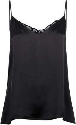 Hanro Lace Back Silk Camisole