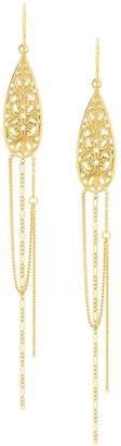 Wouters & Hendrix Gold Filigree earrings