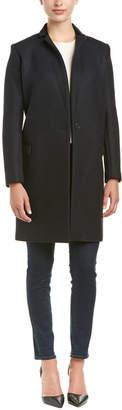 Maje Gus Frock Wool-Blend Coat