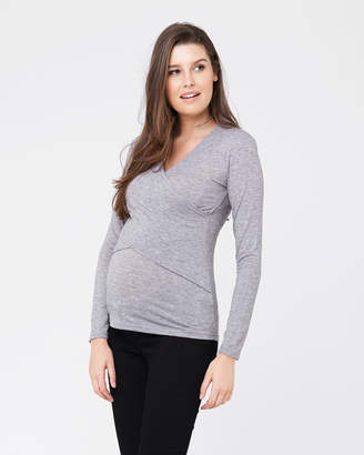 Ripe Maternity Marle Embrace L/S Top