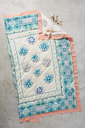 Anthropologie Ponsonby Toddler Quilt & Playmat $98 thestylecure.com