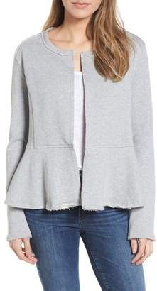 Caslon Knit Peplum Jacket