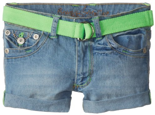 Freestyle Revolution Big Girls' Belted Emille Short with Color-Pop Stitching