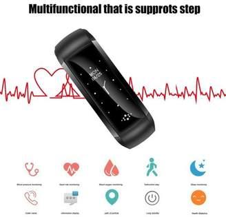 Catoofly Bluetoot h Smart Bracelet Activity Tracker Blood Pressure Health Wristband Fitness Multifunctional Watch Smartband Sport Band