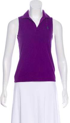 Ralph Lauren Sport Sleeveless Polo Top