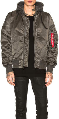 Alpha Industries MA-1 Natus Battleworn Jacket