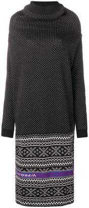 Y/Project Y / Project intarsia-knit dress