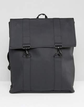 Rains Messenger Backpack In Black