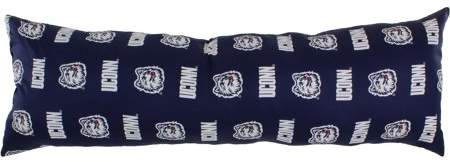 """College Covers Connecticut Huskies Big Comfy Body Pillow - 20"""" x 60"""""""