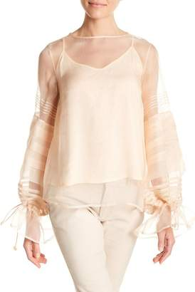 Let Me Be Love Trap Silk Top