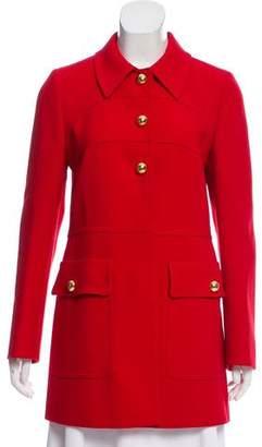 Prada Wool Short Coat