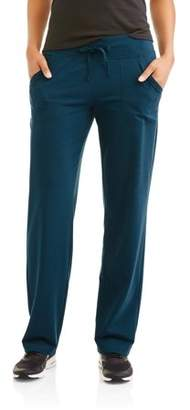 Athletic Works Women's Active Knit Pant Available in Regular and Petite