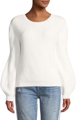 Few Moda Cutout-Back Dolman-Sleeve Sweater